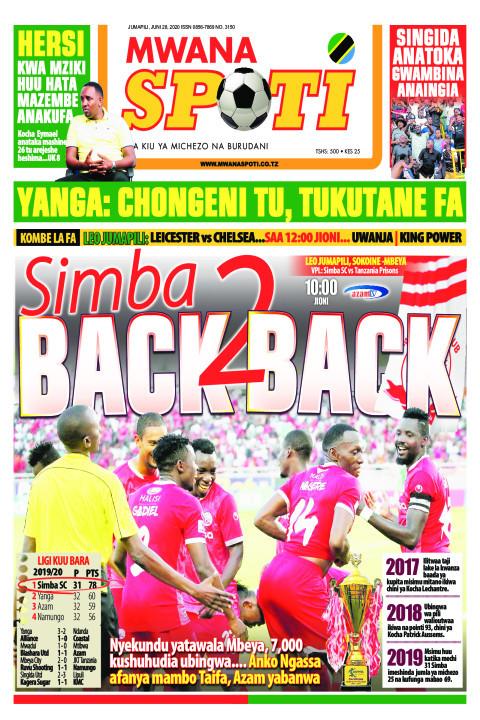 SIMBA NI BACK 2 BACH | Mwanaspoti