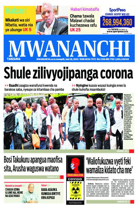 SHULE ZILIVYOJIPANGA CORONA | Mwananchi