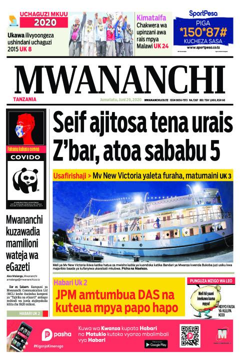Seif ajitosa tena urais Z'bar, atoa sababu 5 | Mwananchi