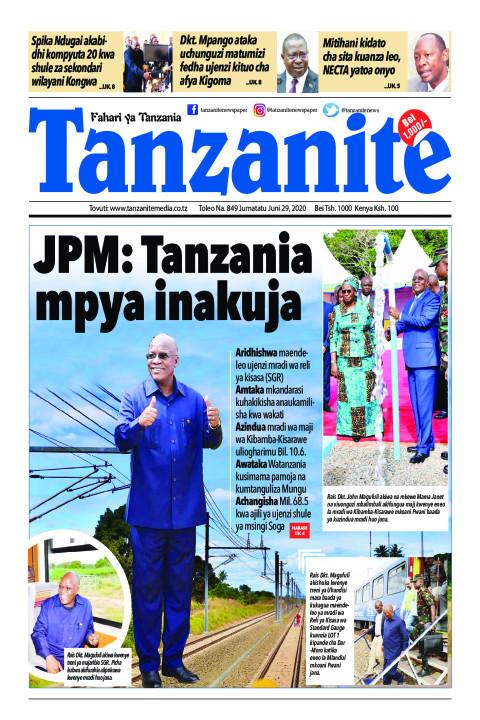 JPM: Tanzania mpya inakuja | Tanzanite