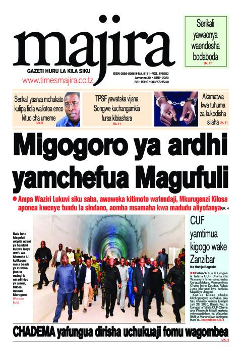 Migogoro ya ardhi yamchefua Rais Magufuli | MAJIRA