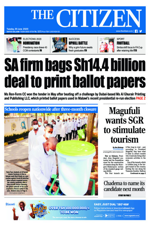 SA firm bags Sh14.4 billion deal to print ballot papers | The Citizen