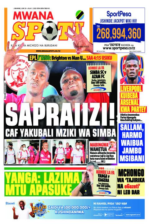 SAPRAIIZI! | Mwanaspoti