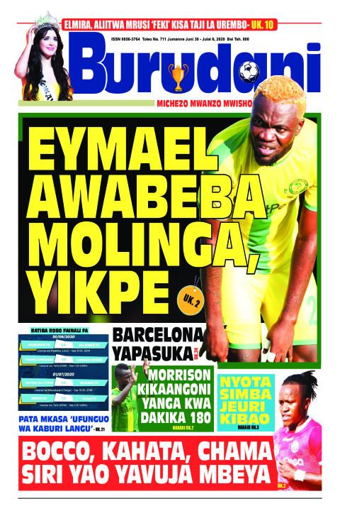 Eymael awabeba Molinga, Yikpe | Burudani
