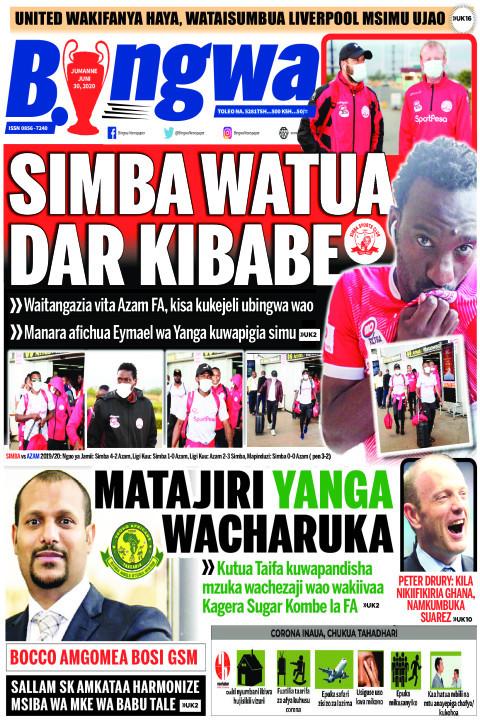 SIMBA WATUA DAR KIBABE | Bingwa