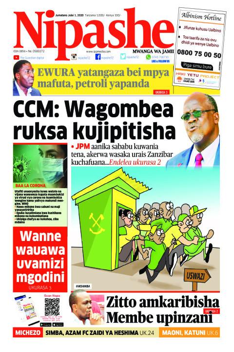CCM: Wagombea ruksa kujipitisha | Nipashe