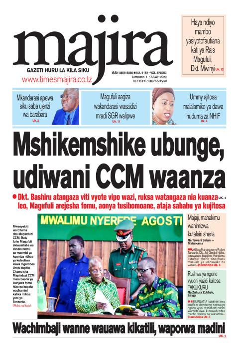 Mshikemshike wa ubunge, udiwani CCM waanza | MAJIRA