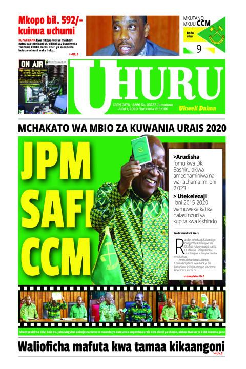 JPM SAFI CCM | Uhuru