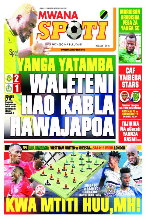 YANGA YATAMBA WALETENI HAO KABLA HAWAJAPOA  | Mwanaspoti