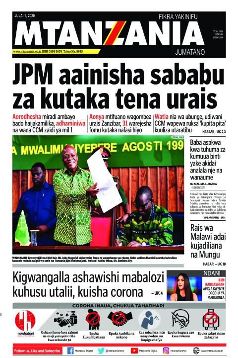 JPM aainisha sababu za kutaka tena urais | Mtanzania