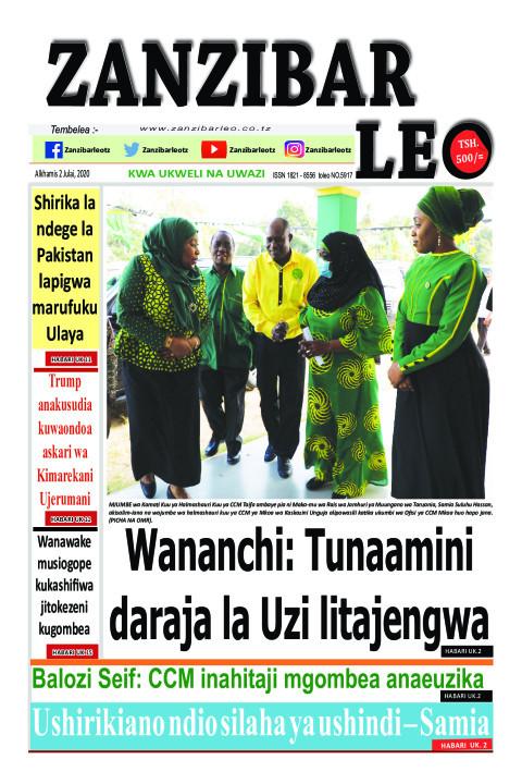 Wananchi:Tunaamini daraja la Uzi litajengwa | ZANZIBAR LEO