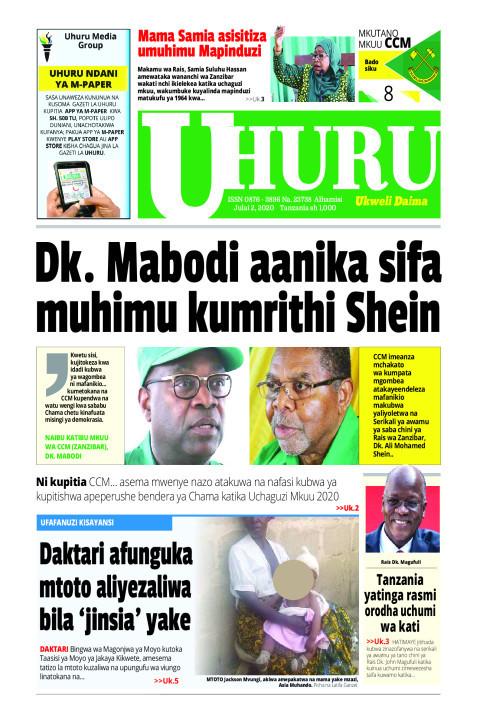 Dk. Mabodi aanikasifa muhimuk umrithi Shein | Uhuru