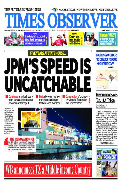 JPM'S SPEED IS UNCATCHABLE | Times Observer
