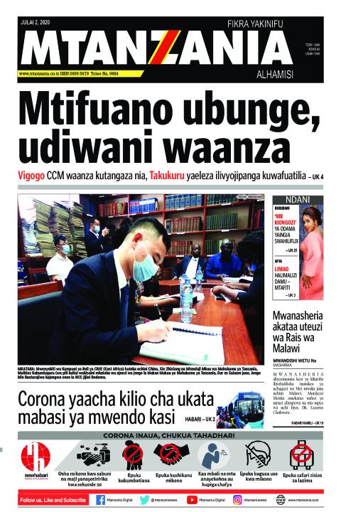 Mtifuano ubunge, udiwani waanza | Mtanzania
