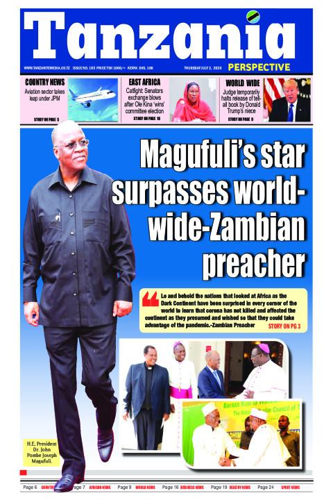 Magufuli's star surpasses worldwide-Zambian preacher | Tanzania Perspective