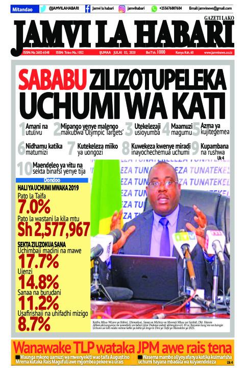 Sababu zilizotupeleka uchumi wa kati | Jamvi La Habari