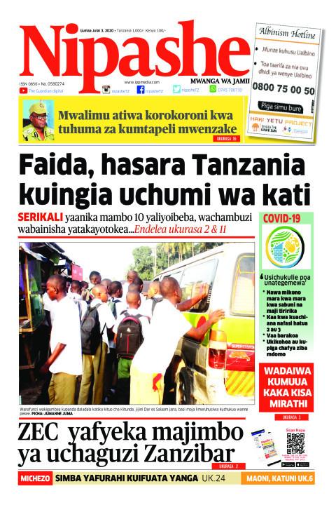 Faida, hasara Tanzania kuingia uchumi wa kati   | Nipashe