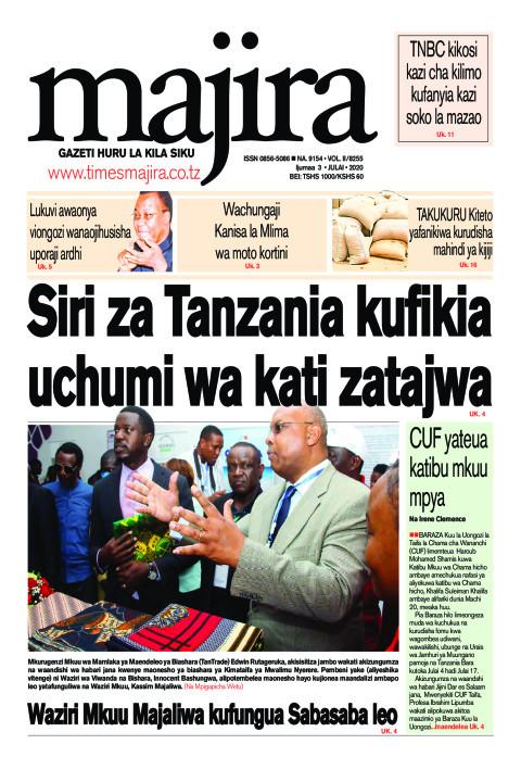 Siri za Tanzania kufikia uchumi wa kati zatajwa | MAJIRA