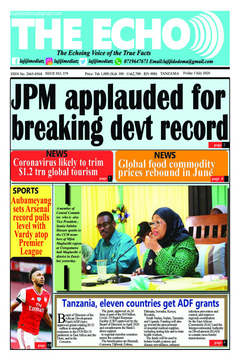 JPM applauded for breaking devt record | The ECHO