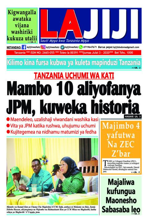 Mambo 10 aliyofanya JPM, kuweka historia    LaJiji