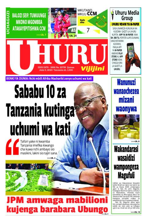 SABABU 10 ZA TANZANIA KUTINGA UCHUMI WA KATI | Uhuru
