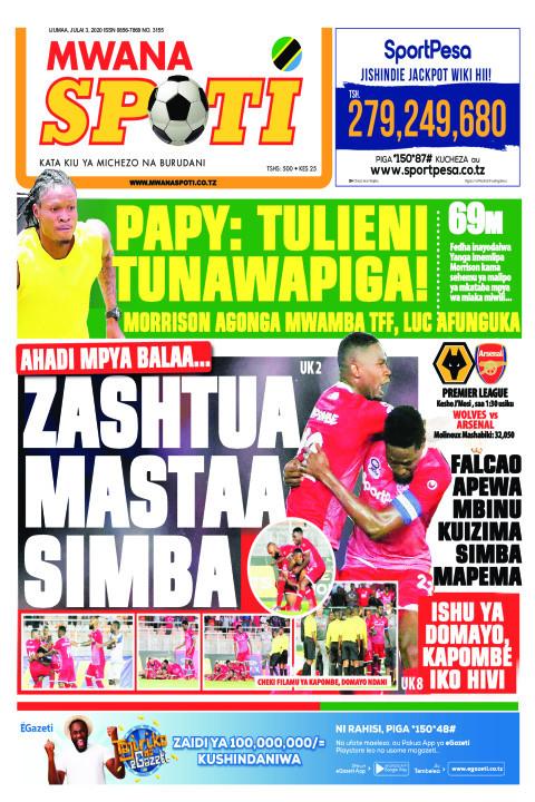 PAPY: TULIENI TUNAWAPIGA! | Mwanaspoti
