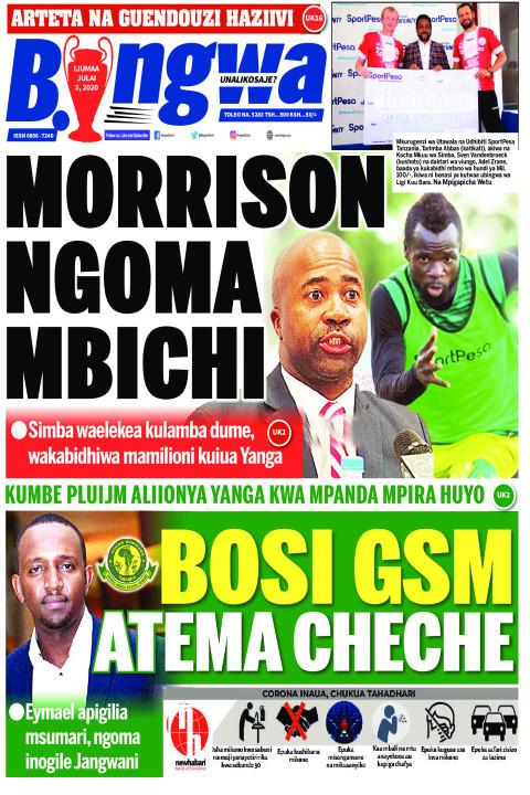 MORRISON ORRISON NGOMA MBICHI | Bingwa