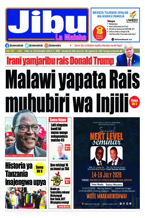 Malawi yapata Rais muhubiri wa Injili | JIBU LA MAISHA