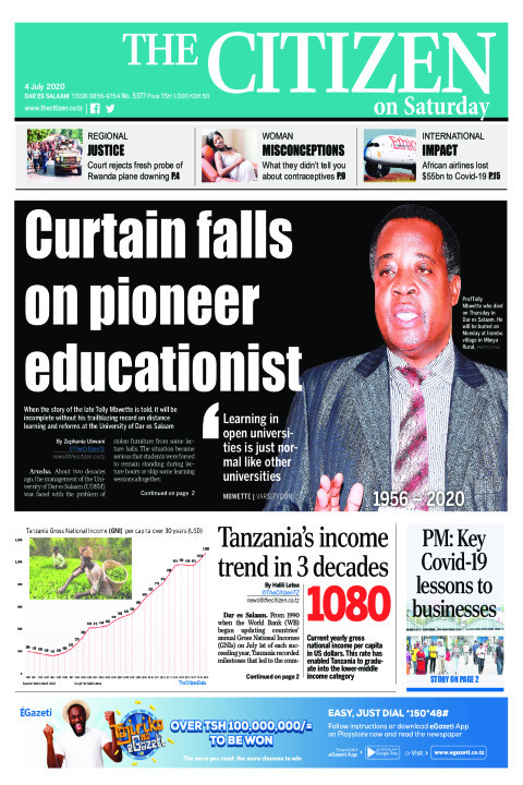 Curtain falls on pioneer educationist | The Citizen