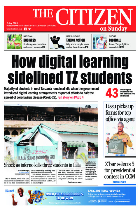 How digital learning sidelined TZ students | The Citizen