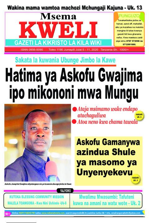 Hatma ya Askofu Gwajima ipo mikononi mwa Mungu | MSEMA KWELI