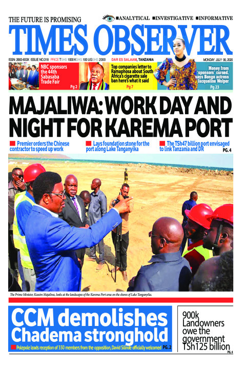 MAJALIWA: WORK DAY AND NIGHT FOR KAREMA PORT | Times Observer