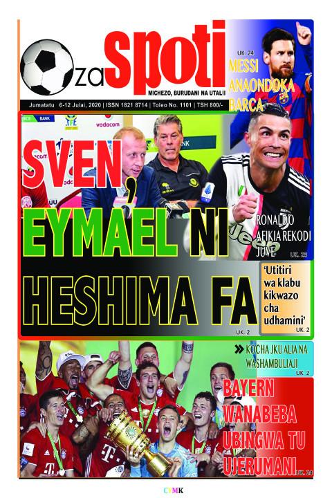Sven, Eymael ni heshima FA | ZA SPOTI