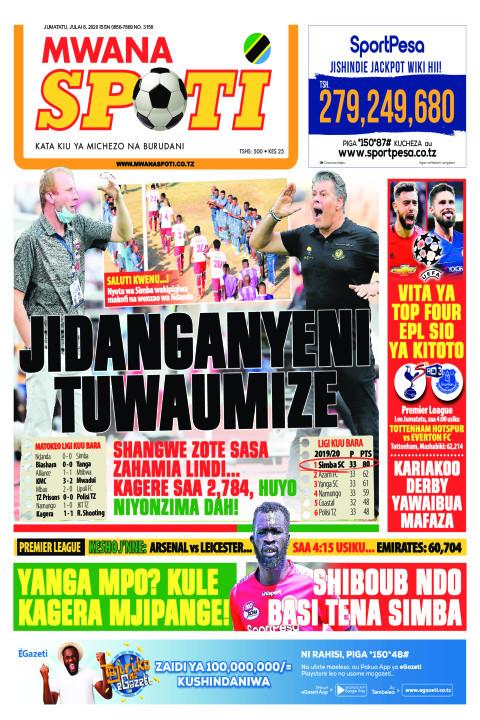 JIDANGANYENI TUWAUMIZE | Mwanaspoti