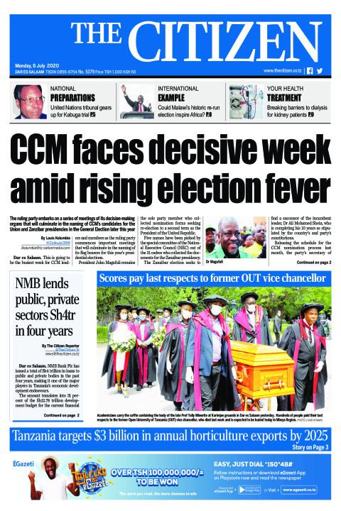CCM faces decisive week amid rising election fever | The Citizen