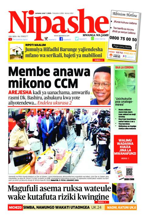 Membe anawa mikono CCM  | Nipashe