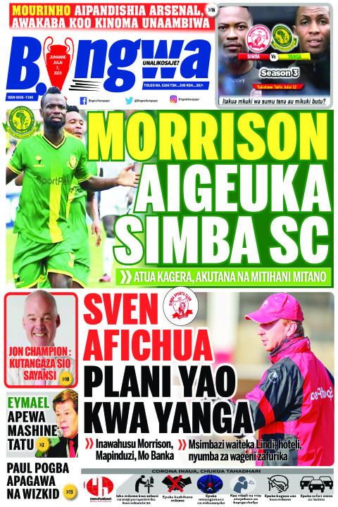 MORRISON AIGEUKA SIMBA SC | Bingwa