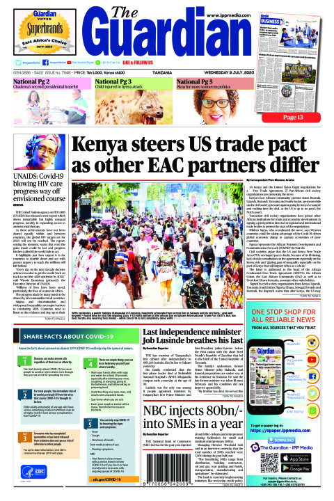 Kenya steers US trade pact as other EAC partners differ | The Guardian