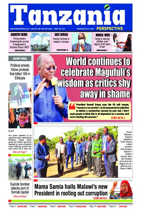 World continues to celebrate Magufuli's wisdom as critics sh | Tanzania Perspective