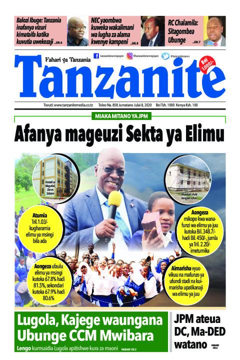 Afanya mageuzi Sekta ya Elimu | Tanzanite