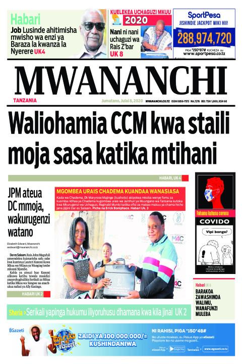 WALIOHAMIA CCM KWA STAILI MOJA SASA MTIHANI | Mwananchi