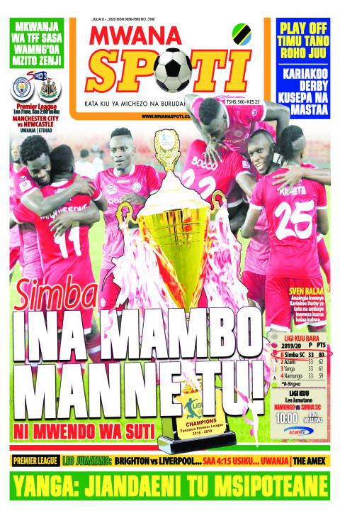 SIMBA NI MAMBO MANNE TU | Mwanaspoti
