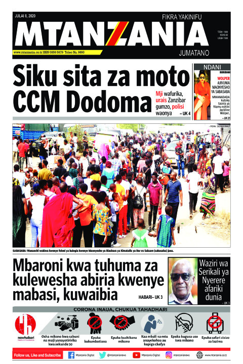 Siku sita za moto CCM Dodoma | Mtanzania
