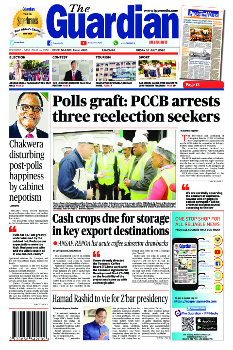 Polls graft: PCCB arrests three reelection seekers | The Guardian