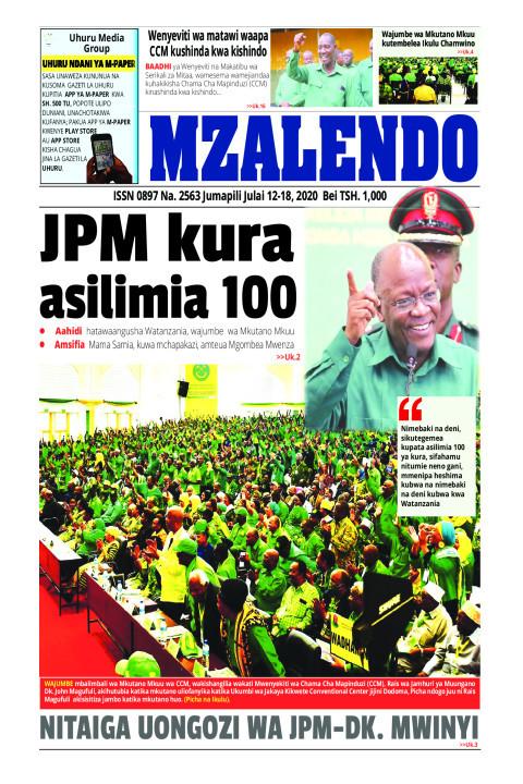 JPM KURA ASILIMIA 100 | Mzalendo