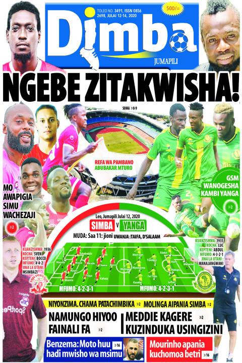 NGEBE ZITAKWISHA! | DIMBA