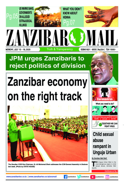 Zanzibar economy on the right track | ZANZIBAR MAIL