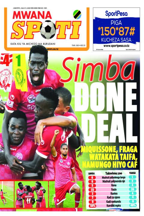 SIMBA DONE DEAL | Mwanaspoti