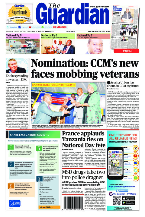 Nomination: CCM's new faces mobbing veterans  | The Guardian