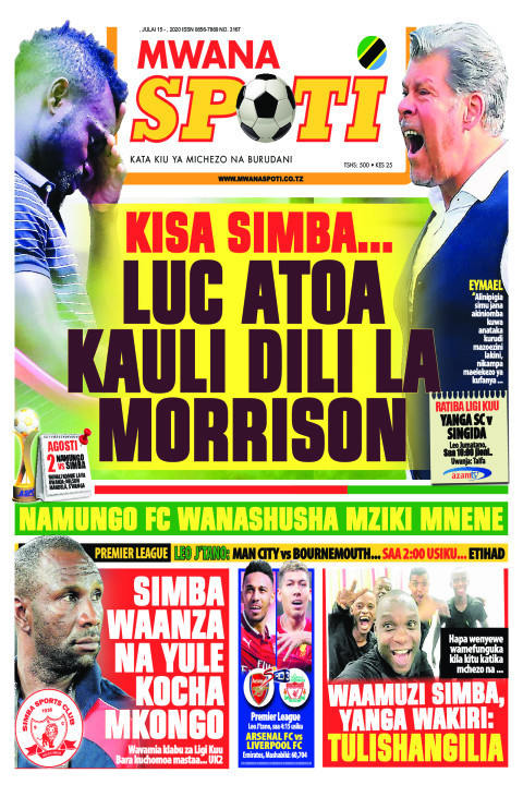 KISA SIMBA...LUC ATOA KAULI DILI LA MORRISON | Mwanaspoti
